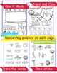 Beginner Reading NO PREP Worksheets Letter N | PreK-K