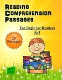 Beginner Reading Passages K-1  Common Core Aligned  Volume 3