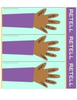 Beginner Retell Bookmark