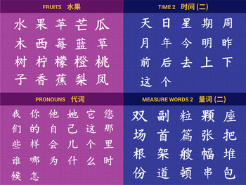 Beginner Series 2 of 224 Chinese Characters Writing Worksheets