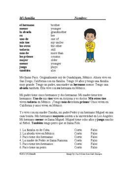 Spanish Easy Reader for Beginners - Lecturas simples - 8 Readings!