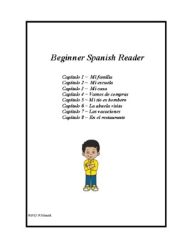 Spanish Beginner Reader ~ Lecturas simples