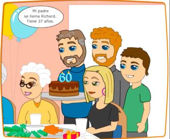 Beginner Spanish SSL El cumpleanos de mi abuelo