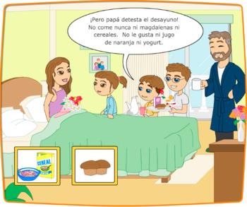 Beginner Spanish SSL Un desayuno para mama