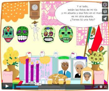 Beginner Spanish SSL dia de los Muertos