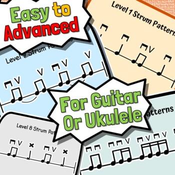 Beginner Strumming Lessons - For Guitar or Ukulele