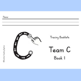 Beginner Tracing Booklets for handwriting - Sunshine Script