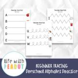 Beginner Tracing Practice, Alphabet Recognition, Preschool