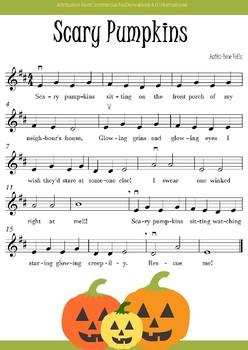 Beginner Violin: Scary Pumpkins (halloween)