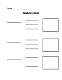 Beginner Vocabulary Organizer