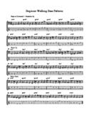 Beginner Walking Bass Patterns