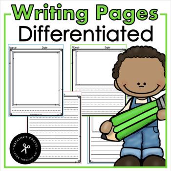 Kindergarten Writing Author, Setting, Characters