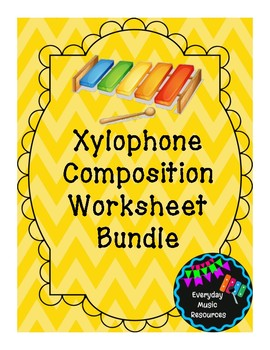Beginner Xylophone Composition Worksheet