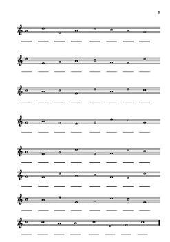 Beginner note reading - treble