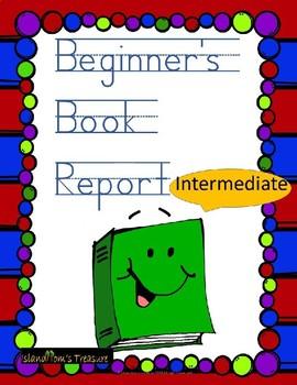 Beginner's Book Report and Storytelling (Intermediate)