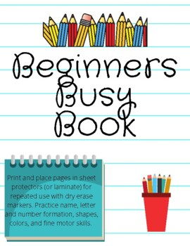 "Beginner's ""Busy"" Book"