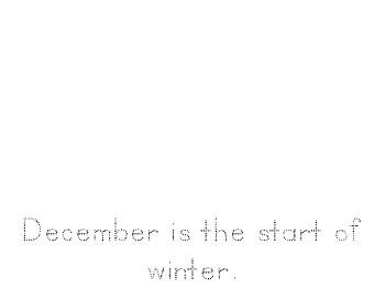 Beginner's December Writing Journal (Kindergarten)
