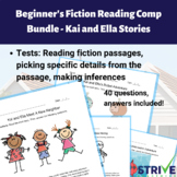 Beginner's Fiction Reading Comprehension Pack 1 - Kai and