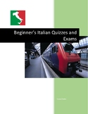 Beginner's Italian Quizzes and Exams