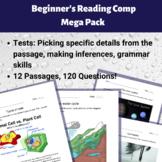 Beginner's Reading Comp Mega Pack