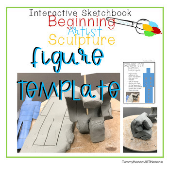 Beginner's Sculpting: A Clay Figure Template