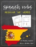 Spanish Bundle | AR Verbs