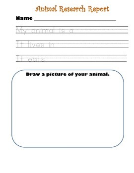 Beginners Animal Research