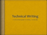Beginners Guide to Technical Writing