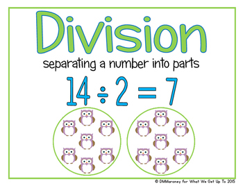 Beginners Look at Division with Divisors 3 and 4 Resource