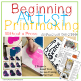 Introducing Printmaking High School and Middle School 9 Week Art Curriculum