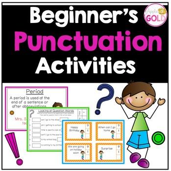 Beginner's Punctuation Activities
