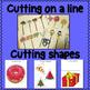 Beginners Scissor Skills Worksheets for Special Education