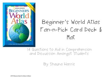 Beginners World Atlas Fan & Pick Cards (Trophies 2nd grade)