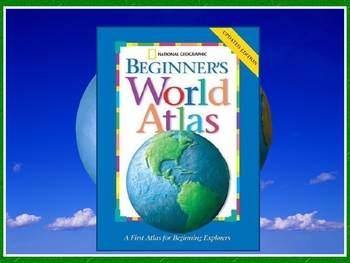 Beginner's World Atlas Powerpoint for Harcourt Trophies 2nd