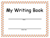 Beginners Writing Booklet