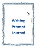 Beginners Writing Prompt Journal
