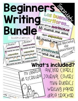 Beginners writing bundle in Spanish!