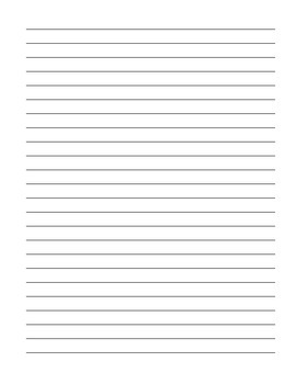 Beginnig of the Year Writing Sample