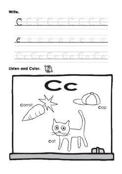Beginning ABCs and Phonics Writing Book
