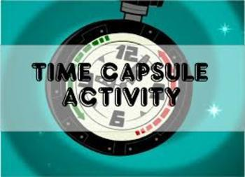Beginning AND End of Year Time Capsule Activity