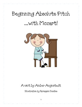 Beginning Absolute Pitch with Mozart
