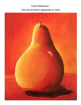 Beginning Acrylic Painting: Pear Tutorial Video