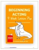 Beginning Acting Nine-Week Lesson Plan