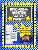 Beginning Addition Activity Packet-Superstar Addition Facts (Sums From 0 to 20)