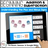 Beginning Addition & Subtraction: Using Plus & Minus - Boo