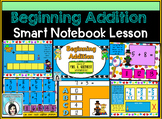 Beginning Addition for SMARTBOARD - Early Learners Adding