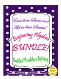 Beginning Algebra Bundle