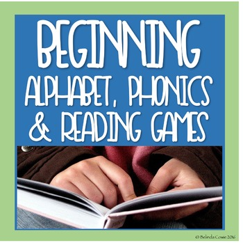 Beginning Alphabet, Phonics and Reading Games and Puzzles Pack 1