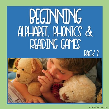 Beginning Alphabet, Phonics and Reading Games and Puzzles Pack 2