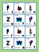 Beginning Alphabet, Phonics and Reading Games and Puzzles Pack 4